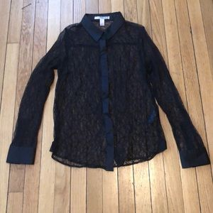Forever 21 lace blouse size M and EUC